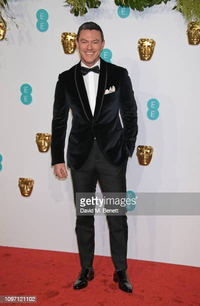 Luke Evans attends the EE British Academy Film Awards at Royal Albert Hall on February 10, 2019 in London, England.