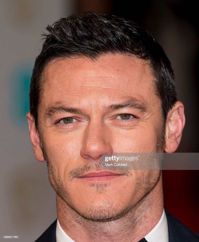 Luke Evans Attends The EE British Academy Film Awards At