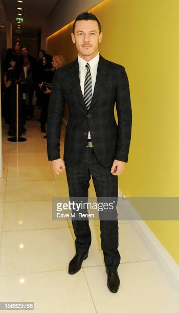 Luke Evans attends the English National Ballet Christmas Party at St Martins Lane Hotel on December 13 2012 in London England