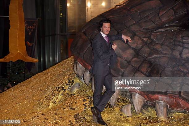 Luke Evans attends the German premiere of the film 'The Hobbit: The Desolation Of Smaug' at Sony Centre on December 9, 2013 in Berlin, Germany.