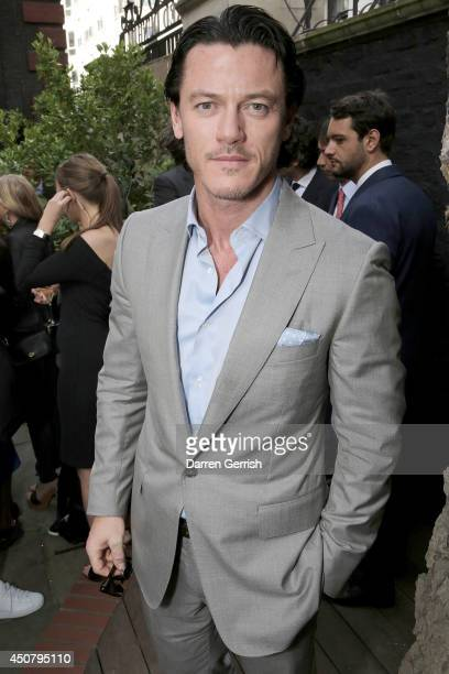 Luke Evans attends the GQ and Dunhill party during the London Collections Men SS15 on June 17 2014 in London England