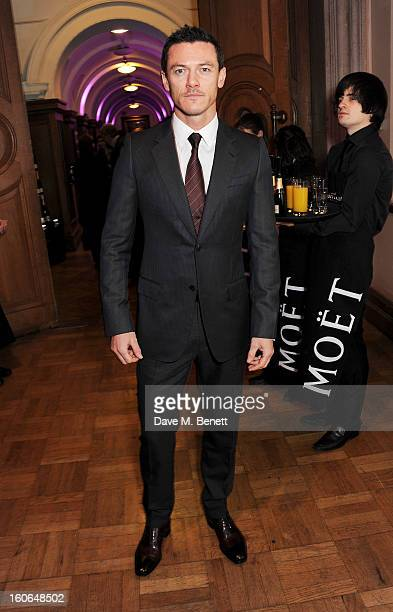 Luke Evans attends the London Evening Standard British Film Awards supported by Moet Chandon and Chopard at the London Film Museum on February 4 2013...