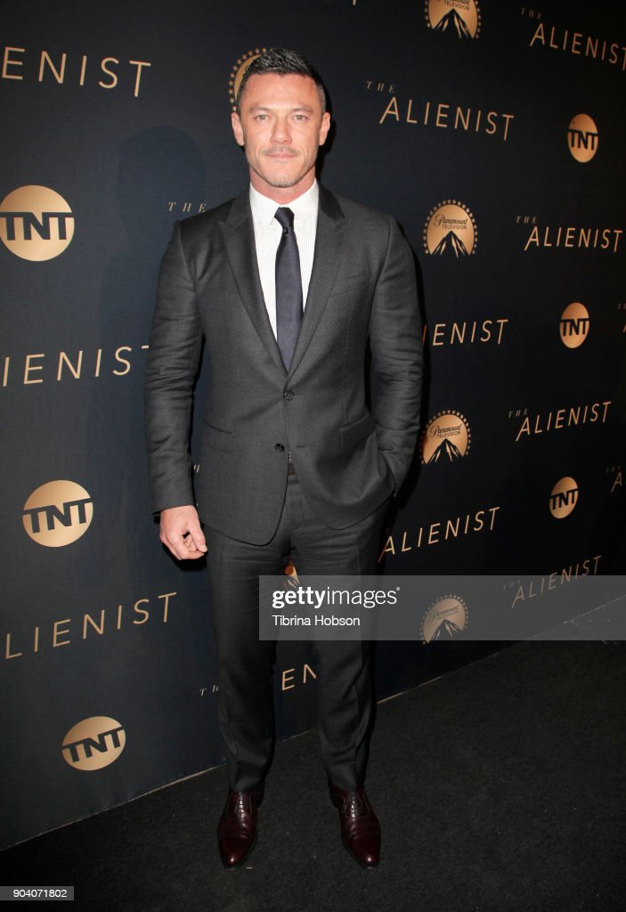 Luke Evans attends the premiere of TNT's 'The Alienist' on January 11, 2018 in Los Angeles, California.