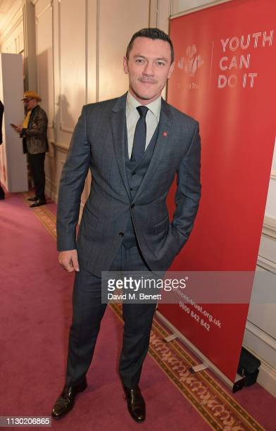 Luke Evans attends The Prince's Trust TKMaxx and Homesense Awards at The London Palladium on March 13 2019 in London England