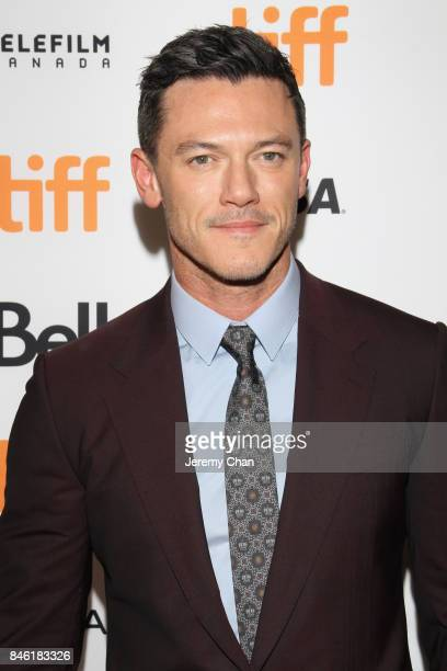 Luke Evans attends the Professor Marston The Wonder Women premiere during the 2017 Toronto International Film Festival at Princess of Wales Theatre...
