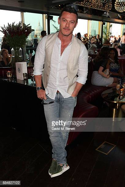 Luke Evans attends the Rumpus Room Spring Fling at Mondrian London on May 26 2016 in London England