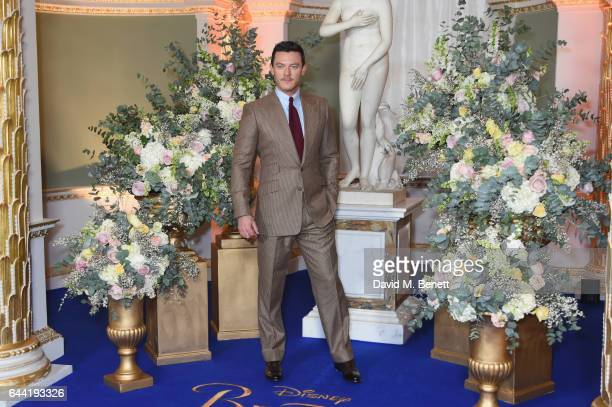 Luke Evans attends the UK launch event for 'Beauty And The Beast' at Spencer House on February 23 2017 in London England