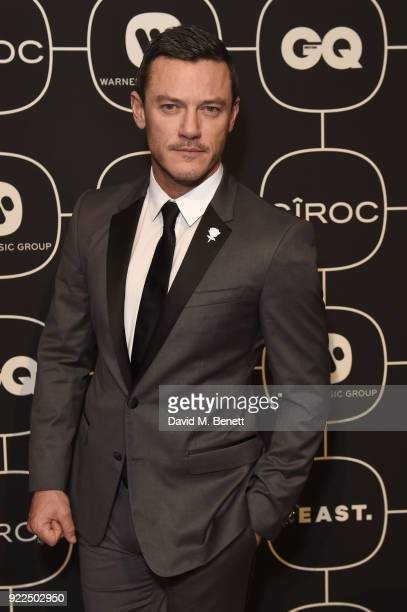 Luke Evans attends the Warner Music CIROC BRIT Awards 2018 afterparty at Freemasons Hall on February 21 2018 in London England