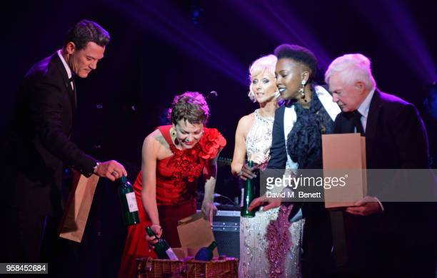 Luke Evans, Helen McCrory, Debbie McGee, Jade Anouka and Sir Derek Jacobi attend The Old Vic Bicentenary Ball to celebrate the theatre's 200th...