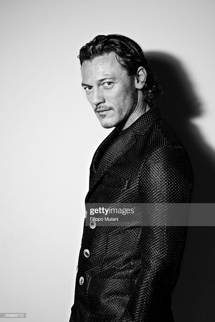 Luke Evans, GQ magazine Italy, February 1, 2014