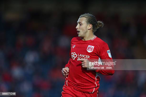 Luke Freeman of Bristol City during the EFL Cup match between Wycombe Wanderers and Bristol City at Adams Park on August 8 2016 in High Wycombe...