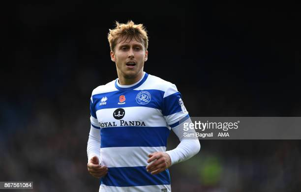 Luke Freeman of Queens Park Rangers during the Sky Bet Championship match between Queens Park Rangers and Wolverhampton at Loftus Road on October 28...