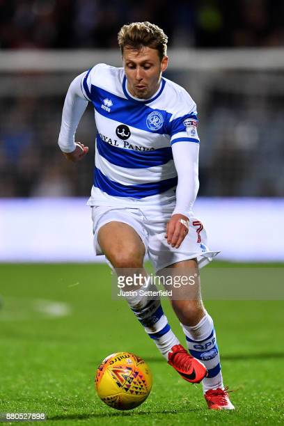 Luke Freeman of Queens Park Rangers during the Sky Bet Championship match between Queens Park Rangers and Brentford at Loftus Road on November 27...