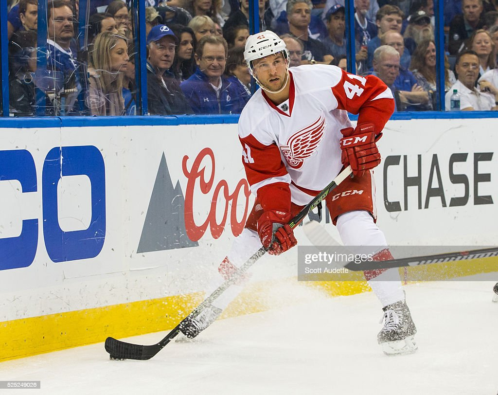 Detroit Red Wings v Tampa Bay Lightning - Game Five