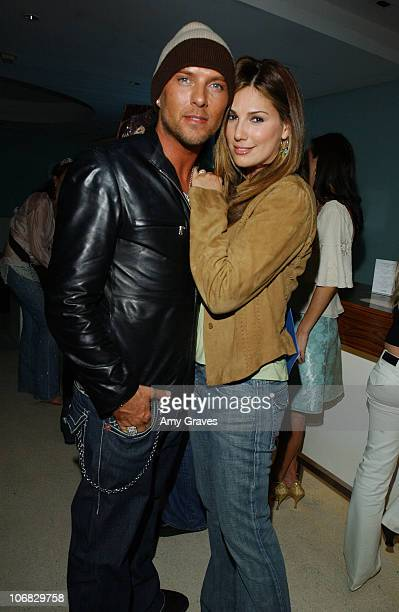 """Luke Goss and Daisy Fuentes during Vogue Magazine Presents a Screening to Celebrate """"Seamless"""" Sponsored by HP, Movado, Redken and Shiseido - After..."""