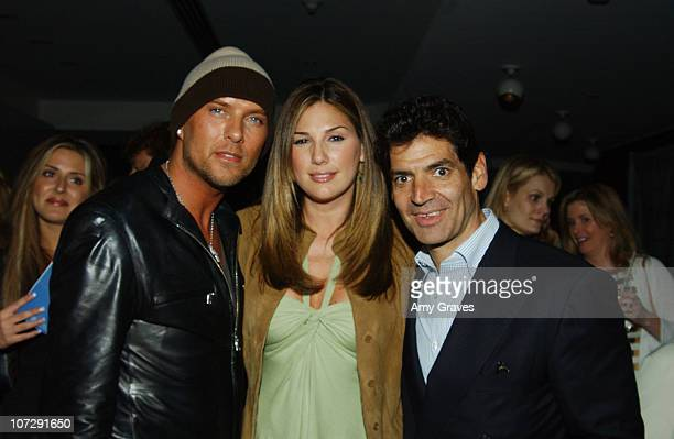 Luke Goss, Daisy Fuentes and Tom Florio, vice president/publisher of Vogue