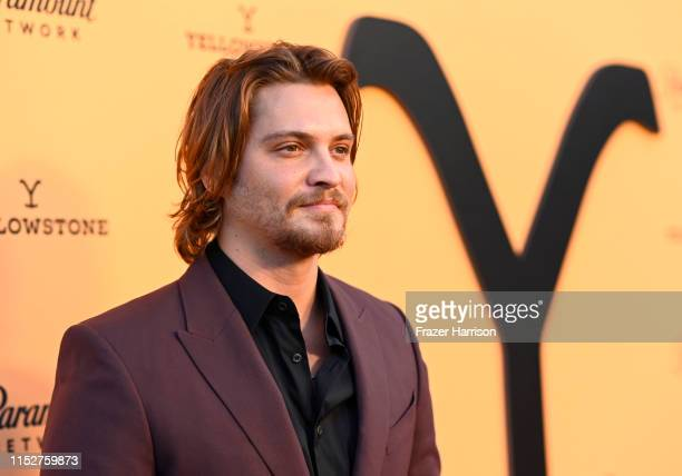 Luke Grimes attends Paramount Network's Yellowstone Season 2 Premiere Party at Lombardi House on May 30 2019 in Los Angeles California