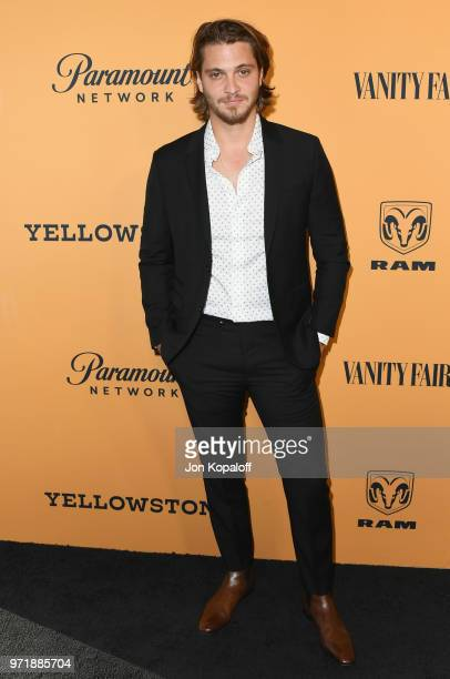 Luke Grimes attends the premiere of Paramount Pictures' Yellowstone at Paramount Studios on June 11 2018 in Hollywood California