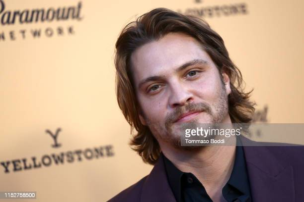 Luke Grimes attends the Premiere Party For Paramount Network's Yellowstone Season 2 at Lombardi House on May 30 2019 in Los Angeles California