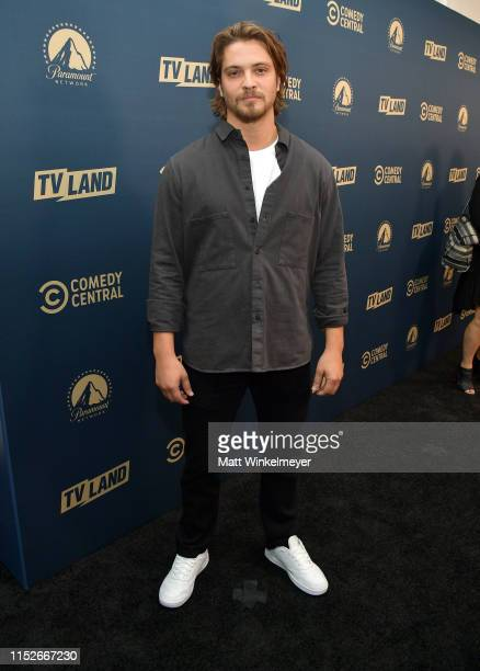 Luke Grimes from 'Yellowstone' attends the Comedy Central Paramount Network and TV Land summer press day at The London Hotel on May 30 2019 in West...