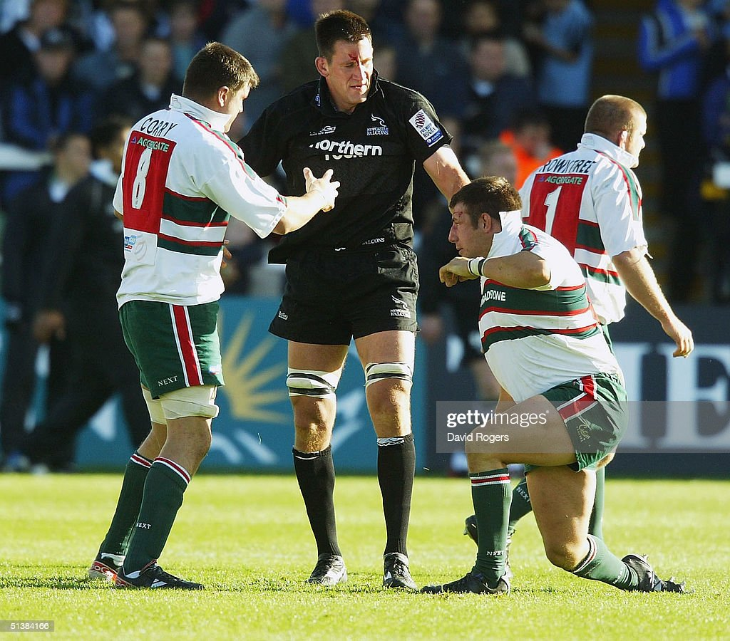 Newcastle Falcons v Leicester Tigers : News Photo