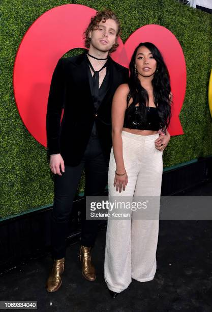 Luke Hemmings and Sierra Deaton attend the 2018 GQ Men of the Year Party at a private residence on December 6 2018 in Beverly Hills California