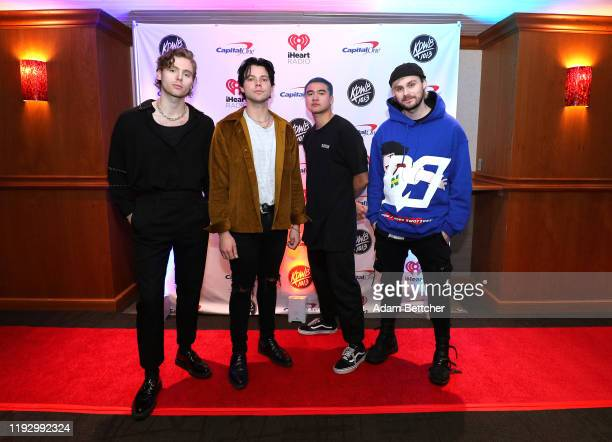 Luke Hemmings Ashton Irwin Calum Hood and Michael Clifford of 5 Seconds of Summer attends 1013 KDWB's Jingle Ball 2019 presented by Capital One at...
