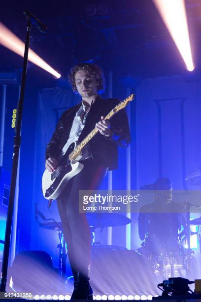 Luke Hemmings of 5 Seconds Of Summer performs at Heaven on April 5 2018 in London England