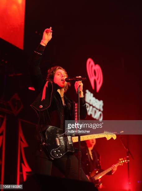 Luke Hemmings of 5 Seconds of Summer performs onstage during 1013 KDWB's Jingle Ball 2018 at Xcel Energy Center on December 3 2018 in St Paul...