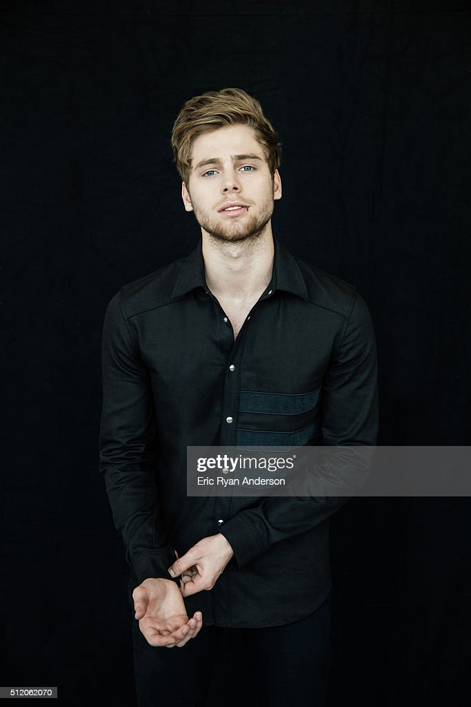 Luke Hemmings of Australian rock band 5 Seconds of Summer is photographed for Billboard Magazine on September 1, 2015 in New York City. PUBLISHED