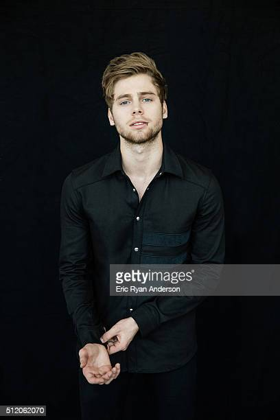Luke Hemmings of Australian rock band 5 Seconds of Summer is photographed for Billboard Magazine on September 1 2015 in New York City PUBLISHED IMAGE