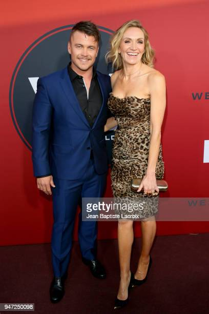 """Luke Hemsworth and Samantha Hemsworth attend the premiere of HBO's """"Westworld"""" Season 2 at The Cinerama Dome on April 16, 2018 in Los Angeles,..."""