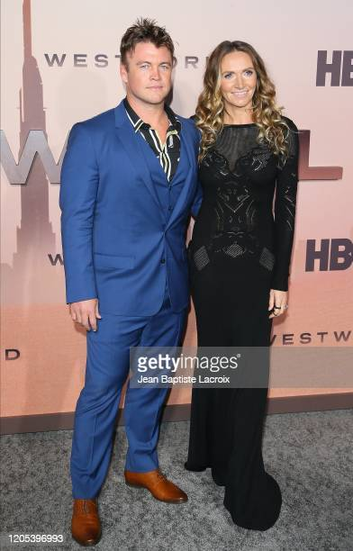 Luke Hemsworth and Samantha Hemsworth attend the Premiere of HBO's Westworld Season 3 at TCL Chinese Theatre on March 05 2020 in Hollywood California