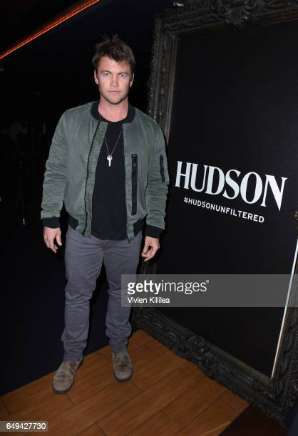 Luke Hemsworth attends a private event hosted by Hudson at Hyde Staples Center for a Red Hot Chili Peppers concert on March 7 2017 in Los Angeles...