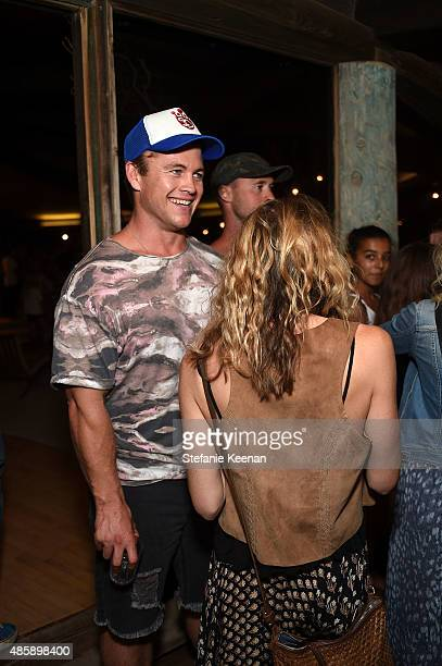 Luke Hemsworth attends Kelly Slater John Moore and Friends Celebrate the Launch of Outerknown at Private Residence on August 29 2015 in Malibu...
