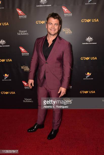 Luke Hemsworth attends the 16th annual G'Day USA Los Angeles Gala at 3LABS on January 26 2019 in Culver City California