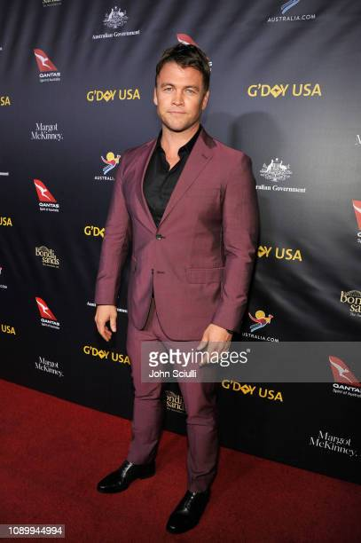 Luke Hemsworth attends the 2019 G'Day USA Gala at 3LABS on January 26 2019 in Culver City California