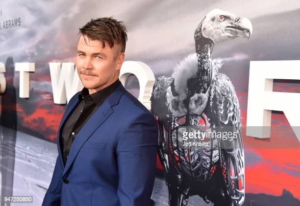 Luke Hemsworth attends the Los Angeles Season 2 premiere of the HBO Drama Series WESTWORLD at The Cinerama Dome on April 16 2018 in Los Angeles...