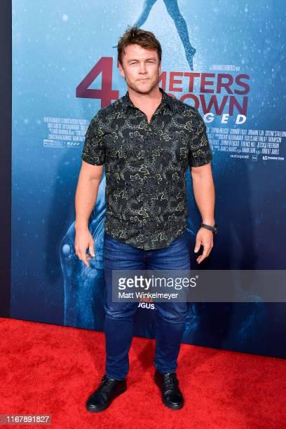 Luke Hemsworth attends the LA Premiere of Entertainment Studios' 47 Meters Down Uncaged at Regency Village Theatre on August 13 2019 in Westwood...