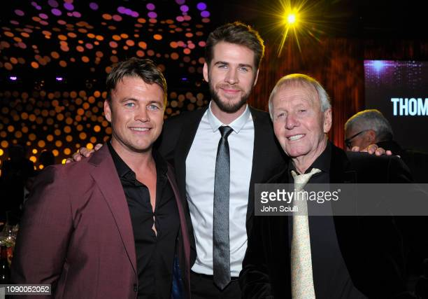 Luke Hemsworth Honoree Liam Hemsworth and Paul Hogan attend the 2019 G'Day USA Gala at 3LABS on January 26 2019 in Culver City California
