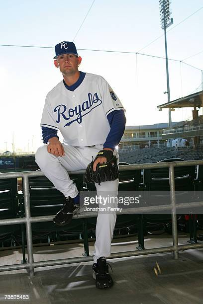 Luke Hochevar of the Kansas City Royals poses for a portrait during Photo Day on February 25 2007 at Surprise Stadium in Surprise Arizona