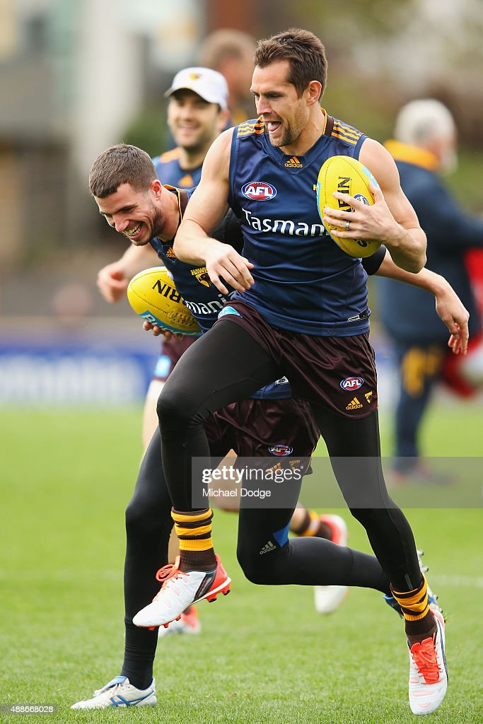 Hawthorn Hawks Media & Training Session