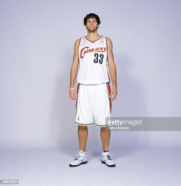 Luke Jackson of the Cleveland Cavaliers poses for a portrait during the Cleveland Cavaliers Media Day at Gund Arena on October 32005 in Cleveland...
