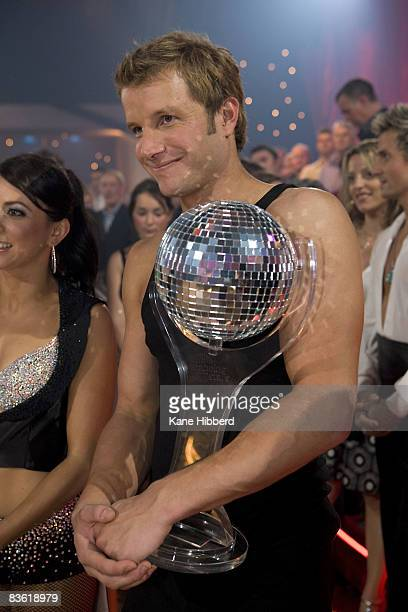 Luke Jacobz arrives for the grand final event for Dancing With The Stars 2008 at the Channel Seven studios on November 8 2008 in Melbourne Australia