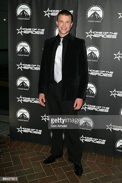 Luke Jacobz arrives for the Paramount Home Entertainment Q4 launch at the Overseas Passenger Terminal on July 29, 2009 in Sydney, Australia.