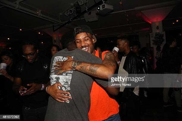 Luke James and Ro James attend A Night With Future DS2 presented by LA Reid at a private location on July 16 in New York City