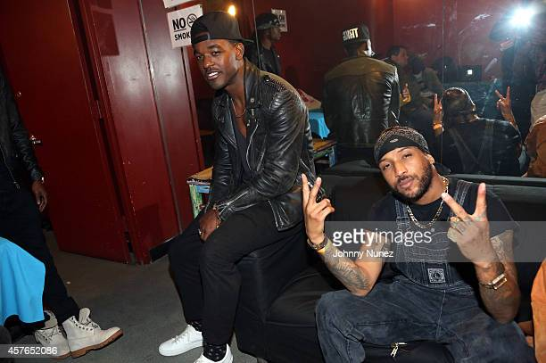 Luke James and Ro James attend S.O.B.'s on October 21 in New York City.