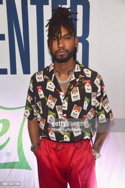 Luke James attends day two of the 2018 BET Awards Radio Remotes on June 23 2018 in Los Angeles California