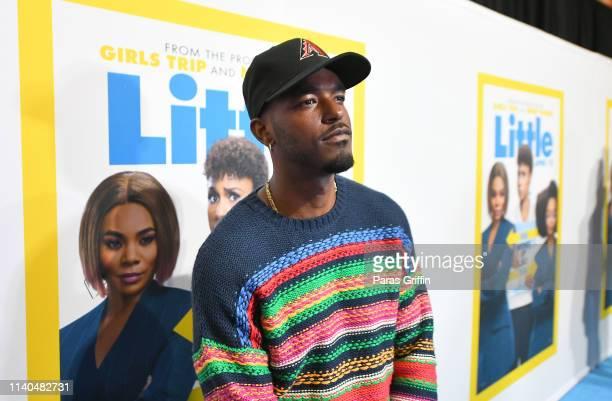 "Luke James attends ""Little"" Atlanta red carpet screening at Regal Atlantic Station on April 04, 2019 in Atlanta, Georgia."