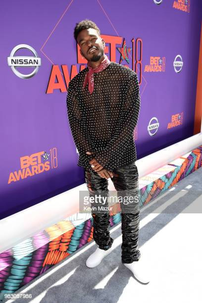 Luke James attends the 2018 BET Awards at Microsoft Theater on June 24 2018 in Los Angeles California